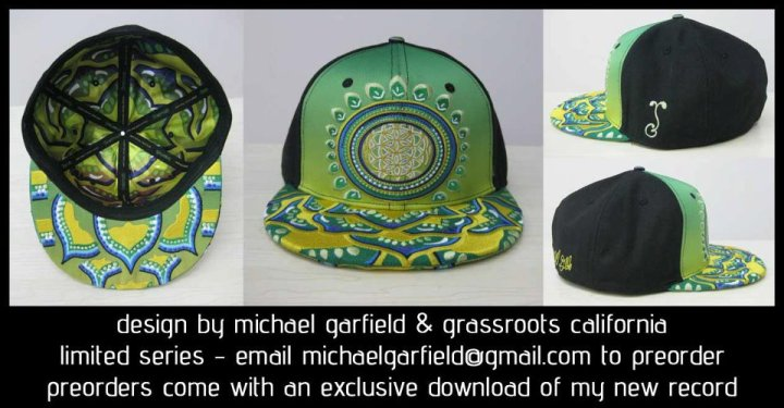 Michael Garfield x Grassroots Cali Limited Edition Hats