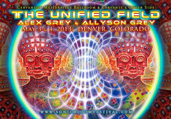The Unified Field w/ Alex & Allyson Grey @ Cervantes – Sonic Bloom Pre-Party