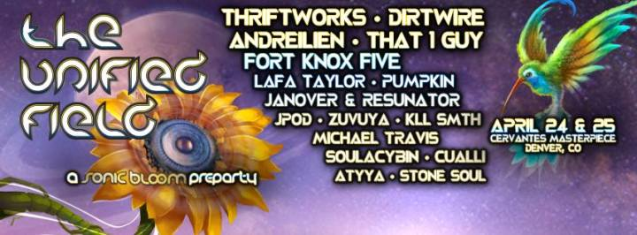 Sonic Bloom Music Festival + Sonic Bloom Pre-Party!