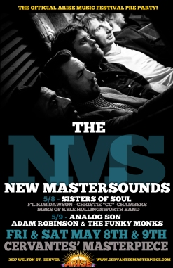 2015-05-08 and 2015-05-09 - The New Mastersounds