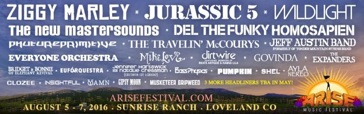 ARISE Music Festival2016