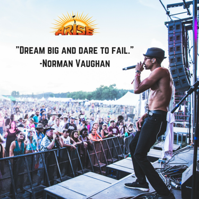 Dream big and dare to fail.Norman Vaughan