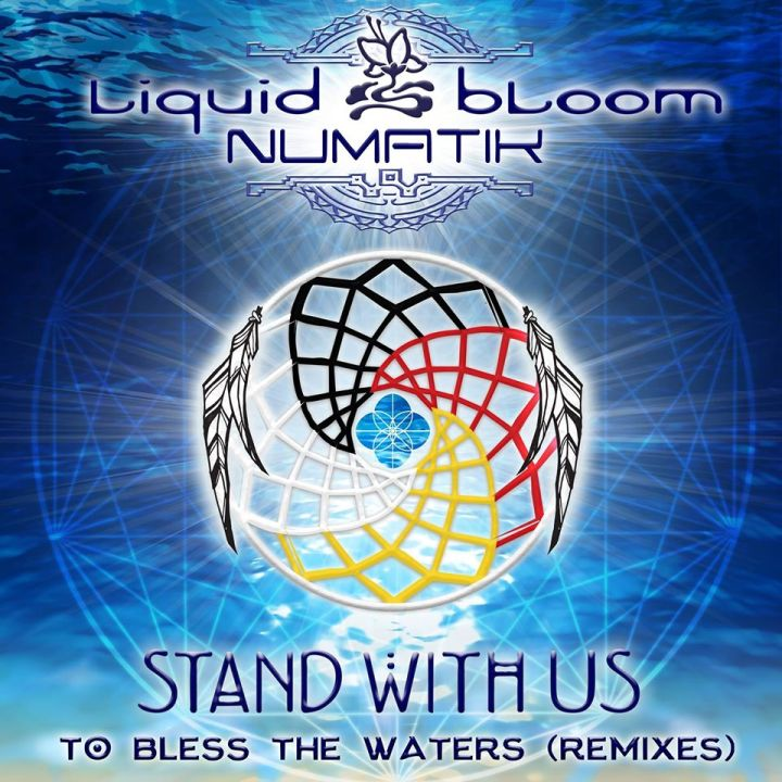 NEW MUSIC RELEASE: Stand with Us to Bless the Waters by Liquid Bloom + Numatik