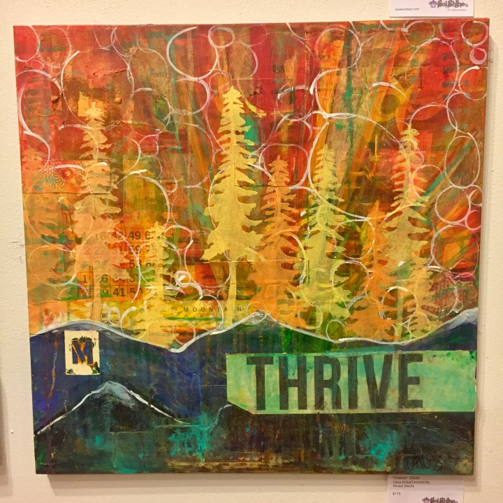 ARTIST OF THE WEEK *HOLIDAY EDITION*: Lexis Krieg + The Sol Shine yoga studio and gallery in DENVER, CO!