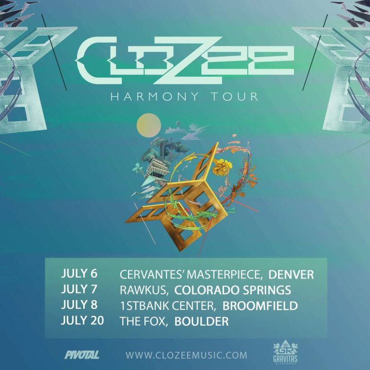 CLOZEE HARMONY TOUR TO HIT COLORADO NEXT MONTH!