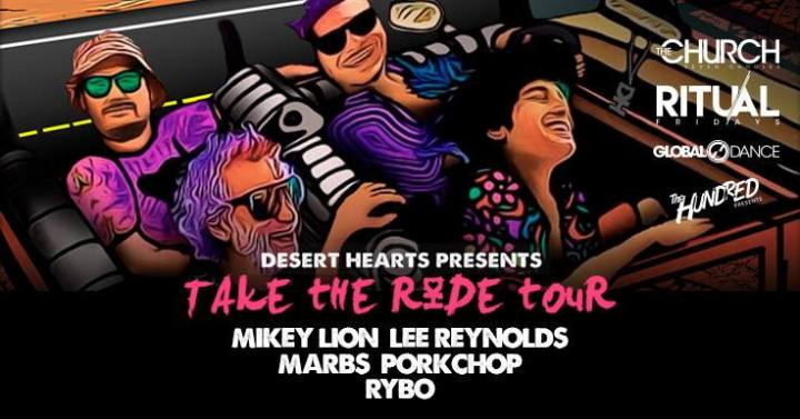 MUSIC SPOTLIGHT: Desert Hearts presents Take The Ride Tour at The Church NightClub in Denver Friday Oct 20th
