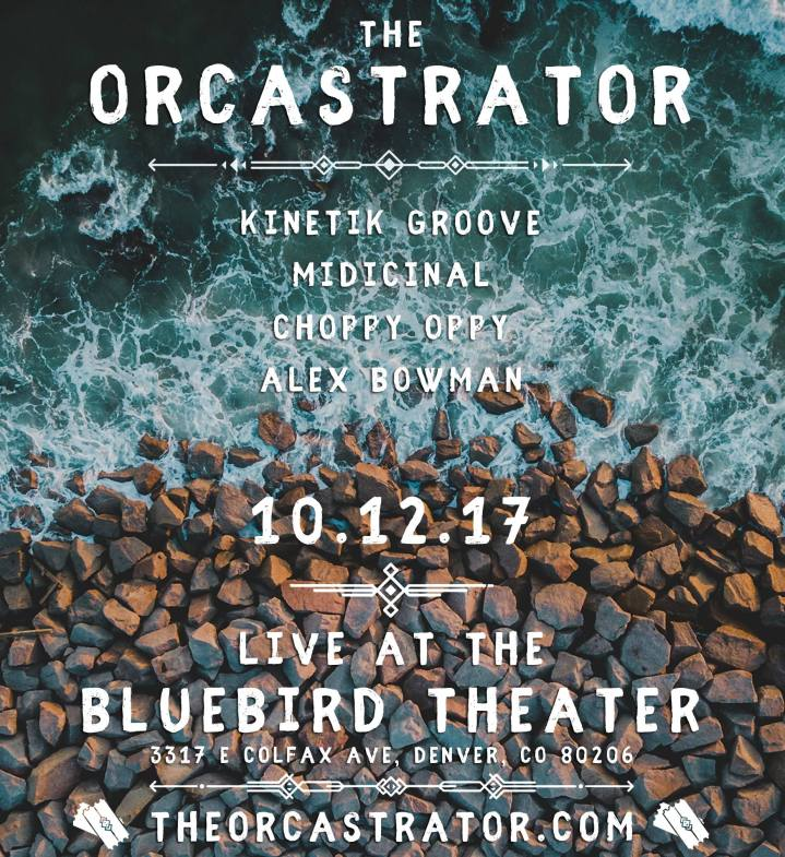 Manifestation Media's SHOW OF THE WEEK: Tonight! The Orcastrator w/ Guests at The Bluebird Theater in Denver + Throwback Personal Story & Underground Video Feature