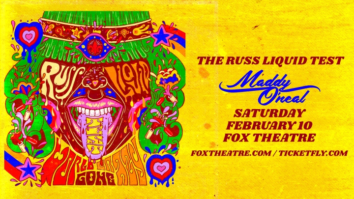 EVENT SPOTLIGHT & TICKET GIVEAWAY: Russ Liquid Test @ The Fox Theatre