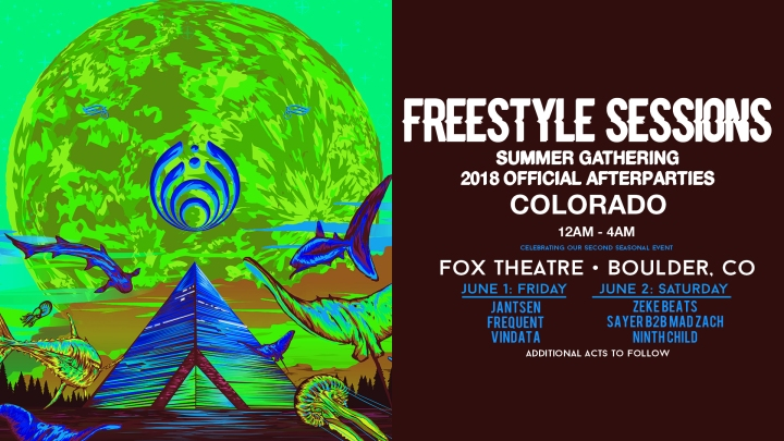 EVENT SPOTLIGHT & TICKET GIVEAWAY: Bassnectar Freestyle Sessions + Official Afterparties at Fox Theatre!