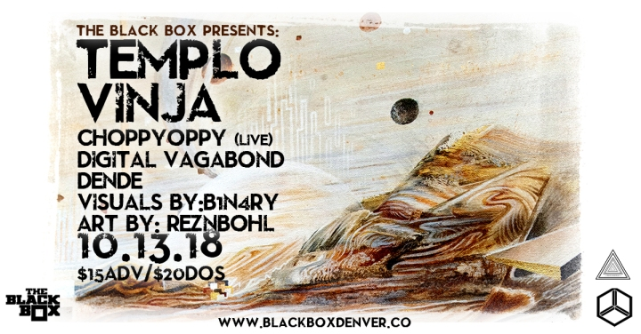 EVENT SPOTLIGHT & TICKET GIVEAWAY: Templo w/ Vinja & MORE at The Black Box 8/13!